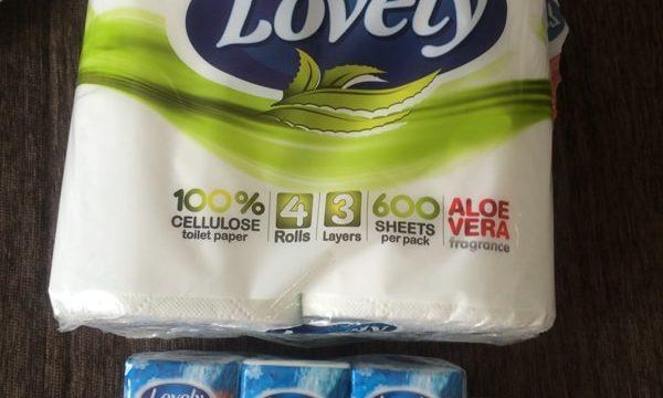 ブルガリアのスーパーで買ったトイレットペーパー